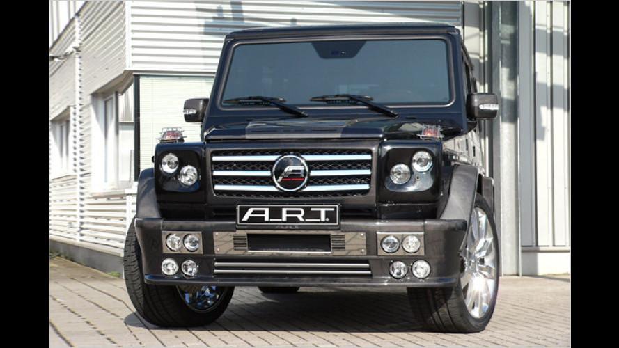 Königliches Einzelstück: A.R.T. veredelt Mercedes G 55 AMG