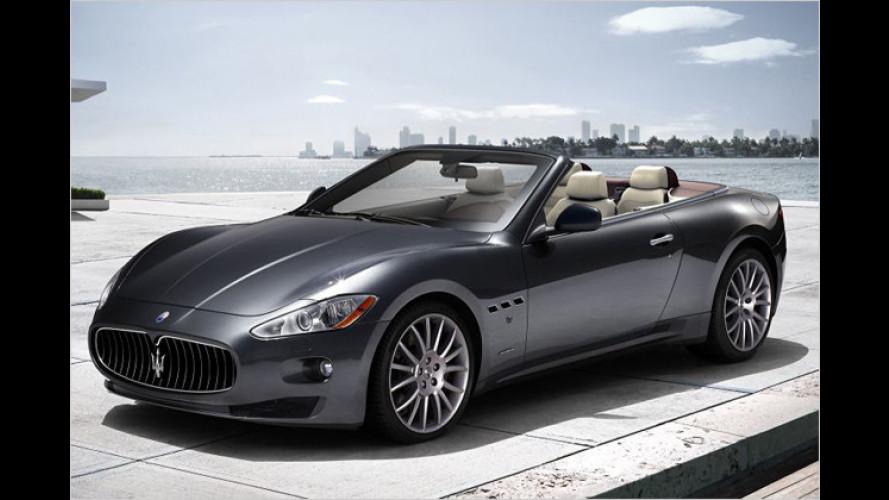 Premiere auf der IAA: Maserati öffnet den GranTurismo