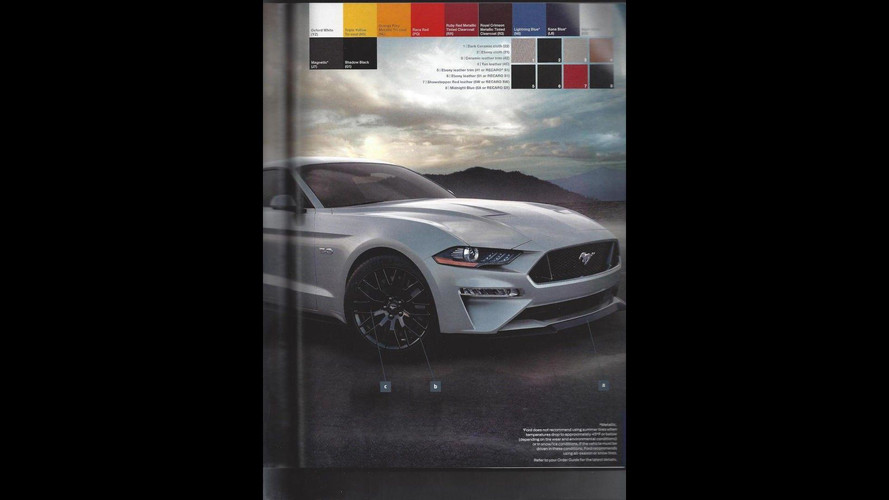 2018 ford order guide.  ford 2018 ford mustang order guide on ford order guide f