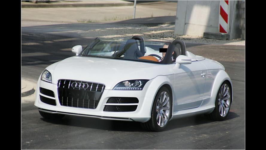 Neu im Sportclub? Erlkönig zeigt Serien-Audi TT clubsport