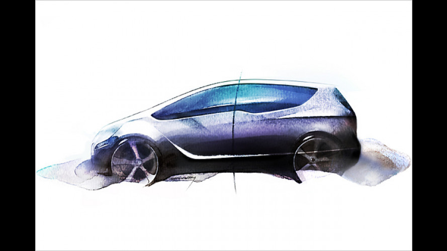 Opel Meriva Concept: Vision für die Van-Zukunft
