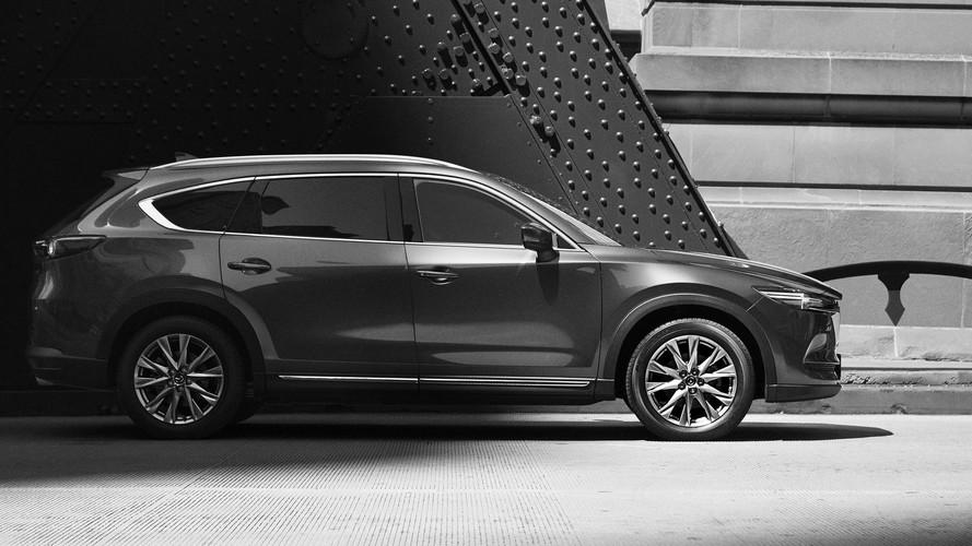 Le Mazda CX-8 dévoile son profil