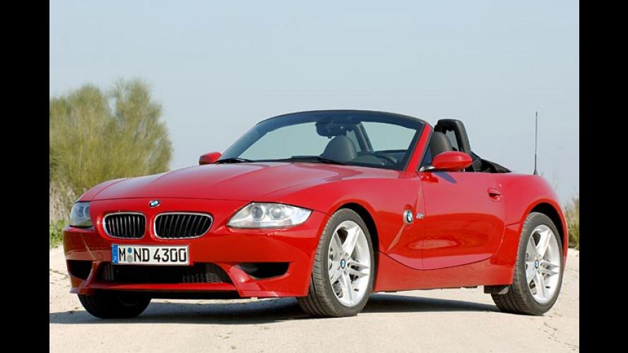 BMW Z4 M Roadster: Geballte Kraft, elegant verpackt