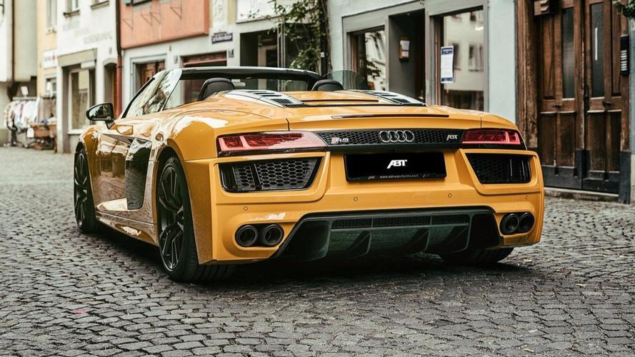 ABT Sportsline s'empare de l'Audi R8 Spyder