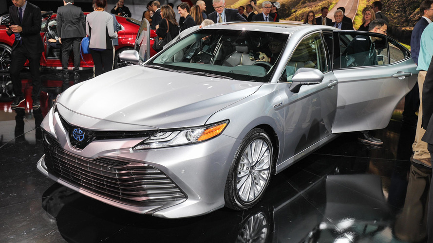 camry toyota introduces aggressive engines motor1 detroit