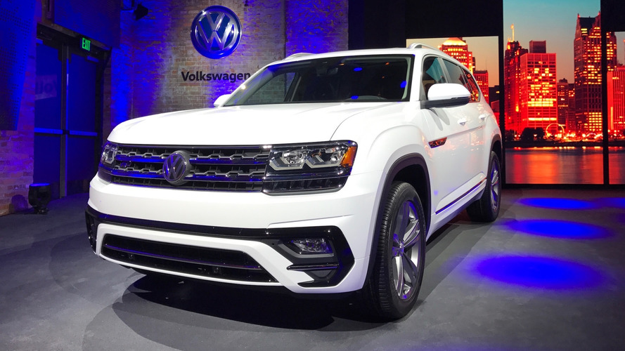 2018 volkswagen atlas r line. perfect volkswagen 2018 volkswagen atlas rline detroit 2017  throughout volkswagen atlas r line