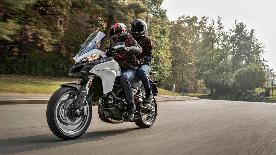 2017 Ducati Multistrada 950 firmanın giriş segmenti enduro motosikleti oldu