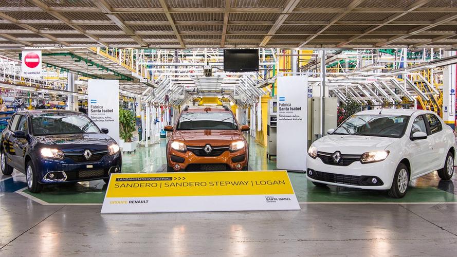 Renault Sandero e Logan começam a ser produzidos na Argentina; Brasil vai de Kwid