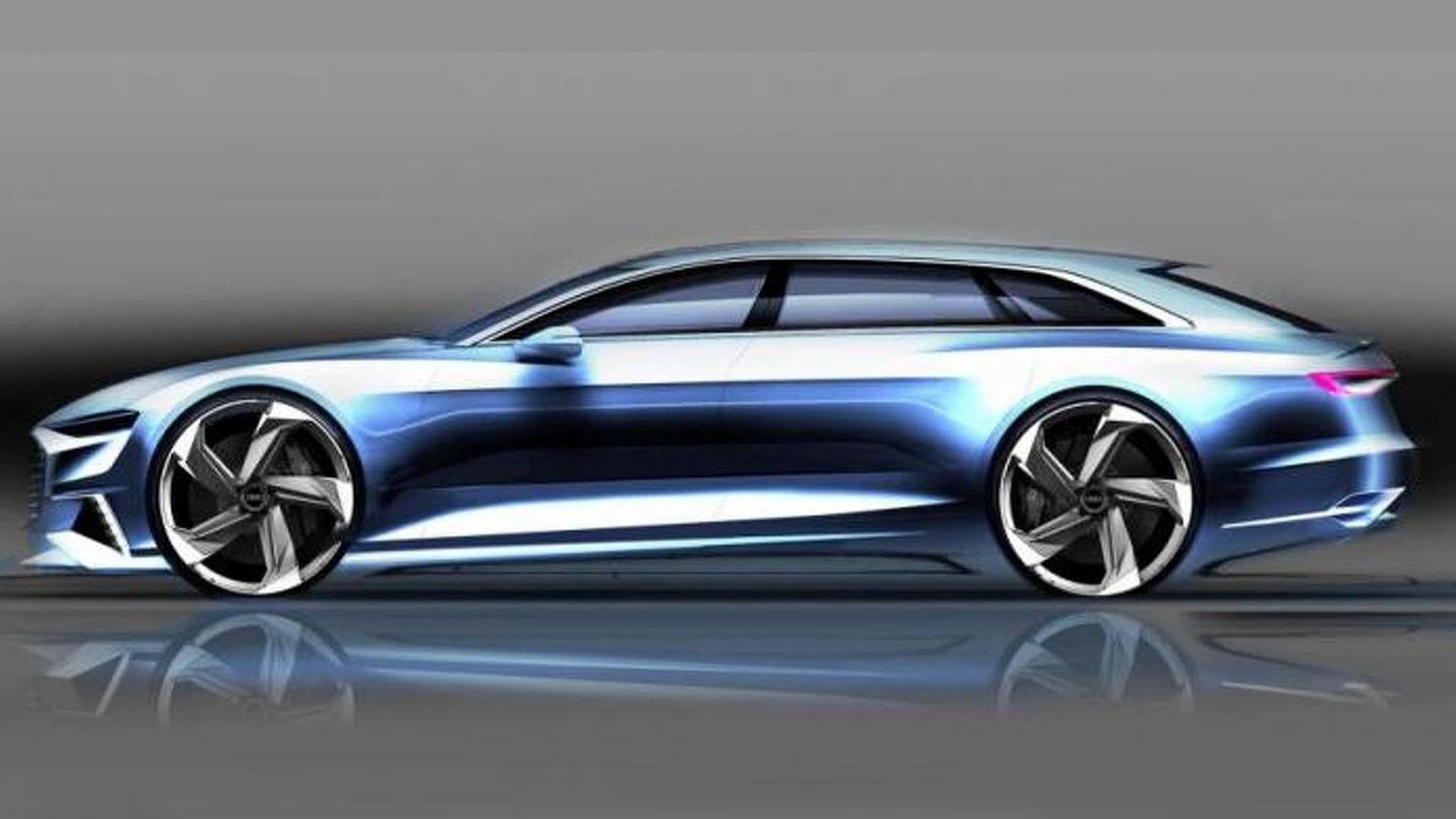 Наброски Audi Prologue Avant