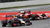 Daniel Ricciardo (AUS) and Fernando Alonso (SPA), 20.07.2014, German Grand Prix, Hockenheim / XPB