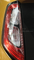 2015 Fiat Punto facelift spy photo