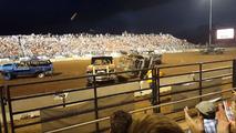 Demolition derby truck