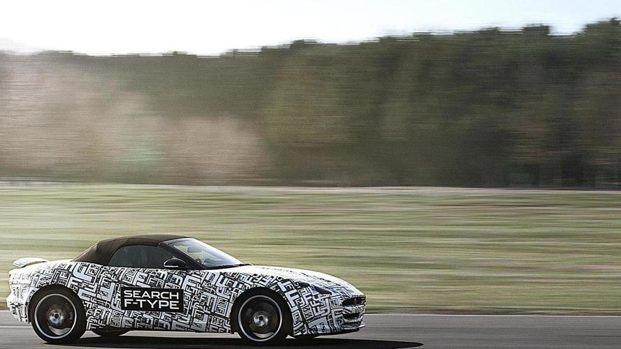 Jaguar F-Type sports car announced [videos]