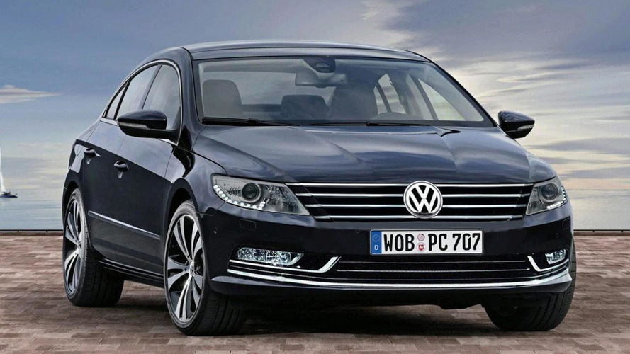 2018 volkswagen passat cc spy shots germany photos. Black Bedroom Furniture Sets. Home Design Ideas