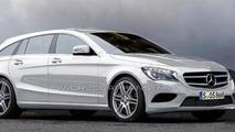 Mercedes CLC / CLA Shooting Break wagon artist rendering, 1000, 16.03.2012