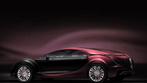 Bugatti 16C Galibier super sedan artist proposal