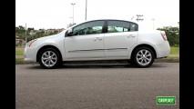 Garagem CARPLACE: Detalhes do visual externo do Nissan Sentra S