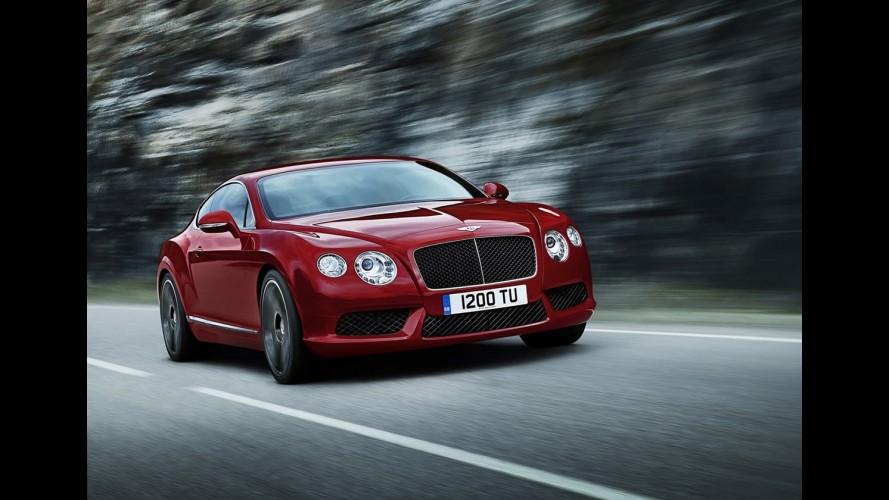 Salão de Detroit 2012: Bentley anuncia Continental GT com novo motor V8 de 507 cv