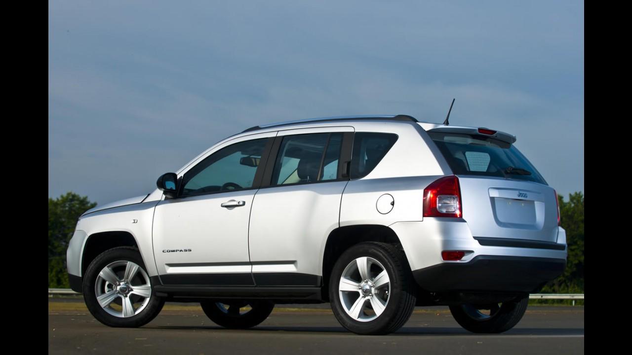 Jeep Compass é lançado oficialmente no Brasil por R$ 99.900