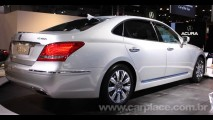 Novo Hyundai Equus 2010 é apresentado no Salão de Nova York