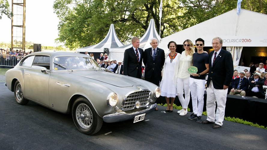Une Ferrari primée en Argentine et en route pour Paris !
