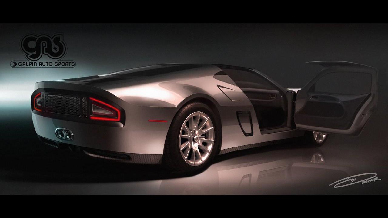 Ford GTR1 será apresentado em Pebble Beach