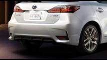Lexus CT 200h reestilizado tem as primeiras imagens oficiais reveladas