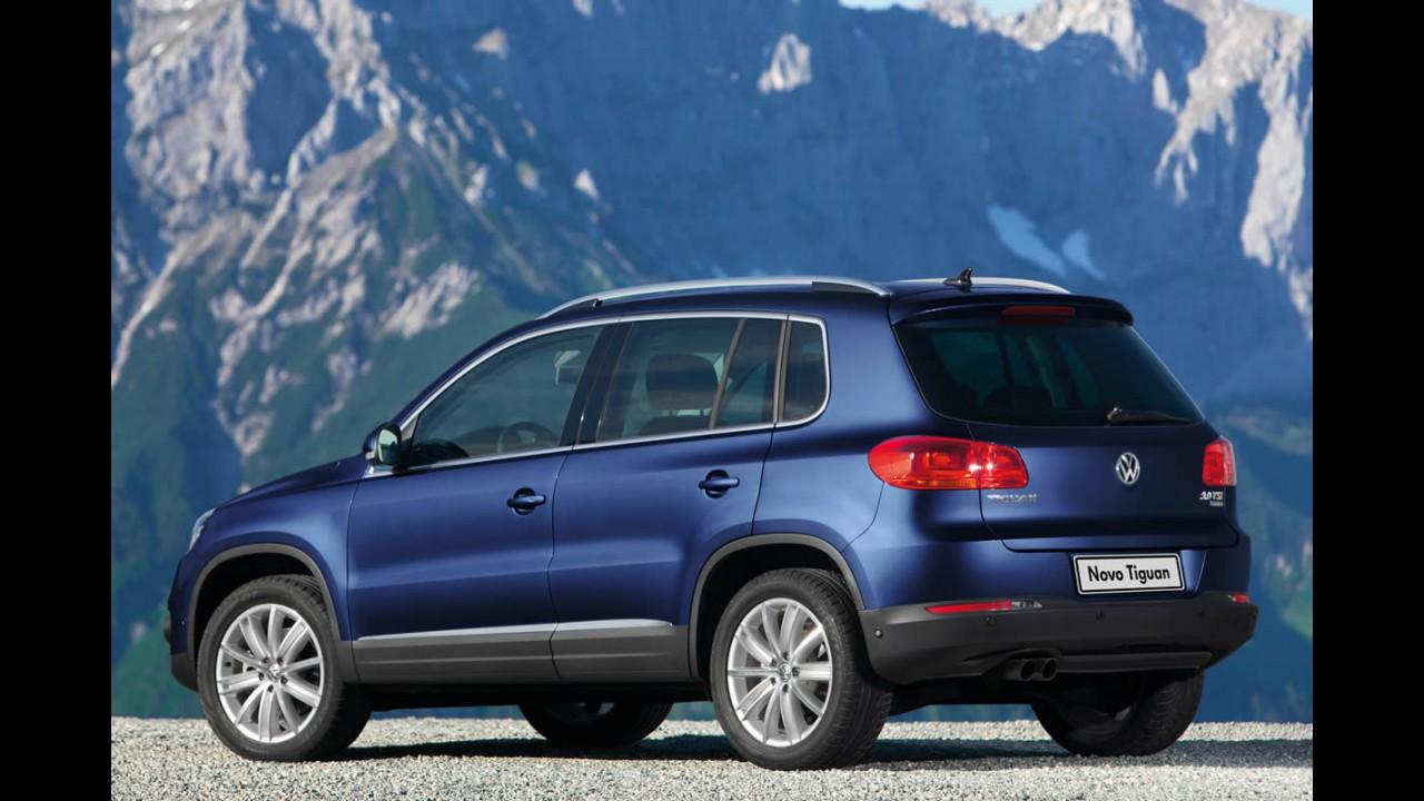 Volkswagen continua cogitando um SUV entre Tiguan e Touareg para os EUA