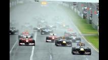 Fórmula 1 com emoção: Button arrisca e vence na Austrália - Massa foi o 3° e Barrichello o 8°