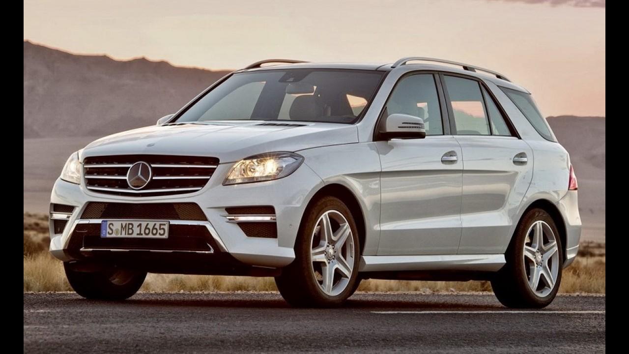 Mercedes desenvolve crossover-cupê para brigar com BMW X6