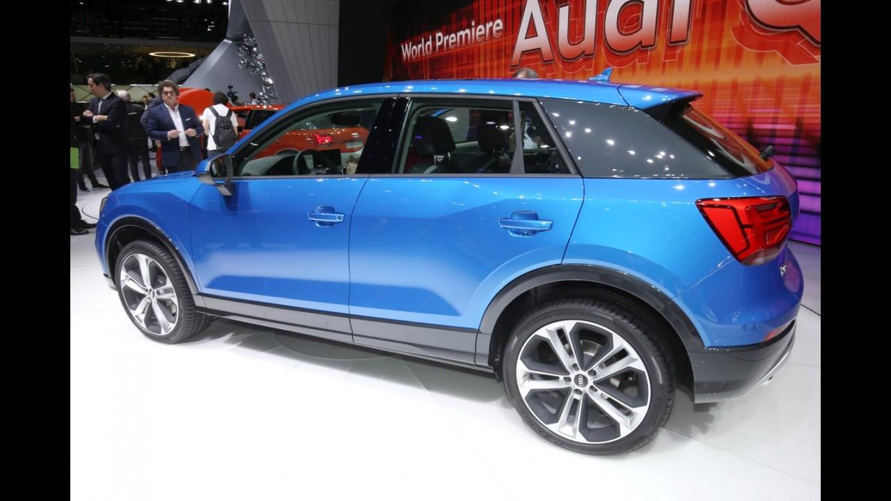 """Este é o novo Audi Q2, que estreia com visual """"quadradinho"""" e motor 1.0 TFSI - veja fotos"""