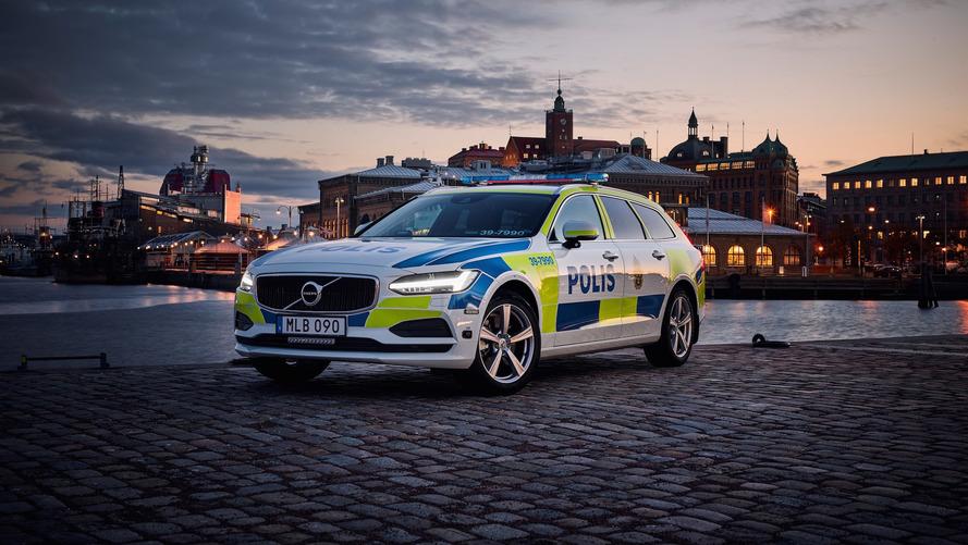 La police suédoise opte pour la Volvo V90