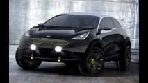 Kia Niro: SUV híbrido que chega em 2016 aparece em primeiros teasers oficiais