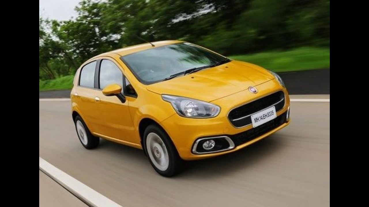 """Fiat Punto Pure: compacto com visual antigo será """"relançado"""" na Índia"""