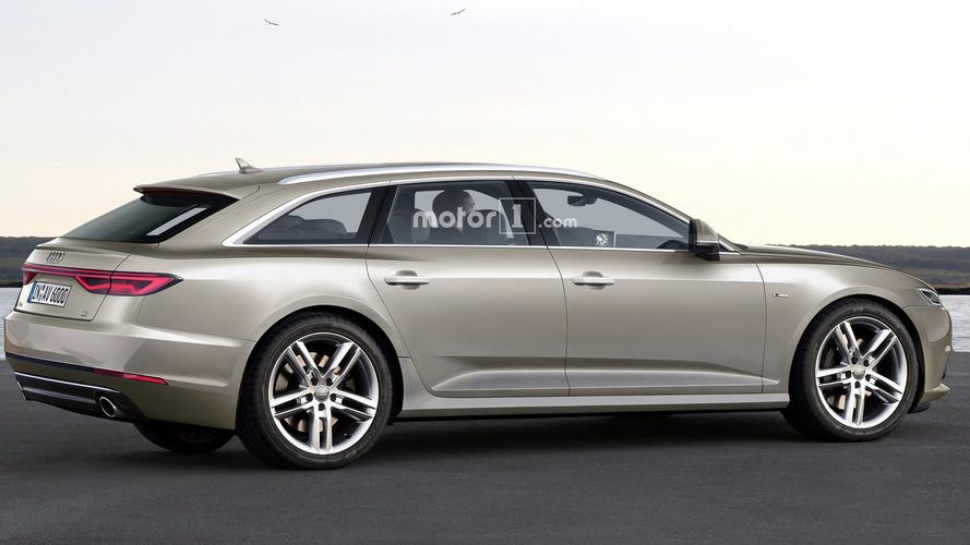 Audi A6 Avant 2018 - Une image plus qu'intéressante!