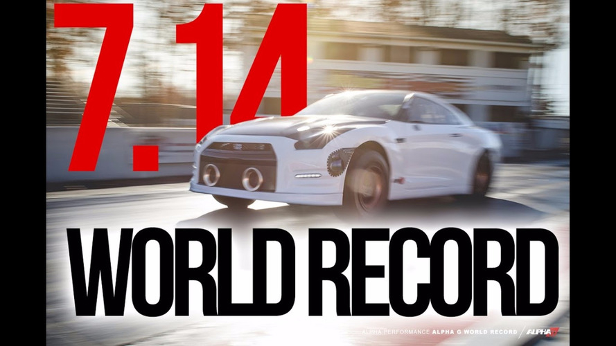 Nissan GT-R'ın 400 metre rekoru tekrar kırıldı