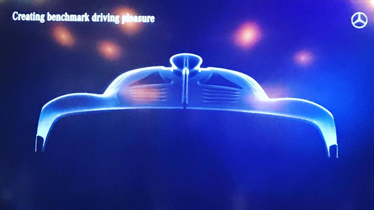 Mercedes-AMG hypercar teaser
