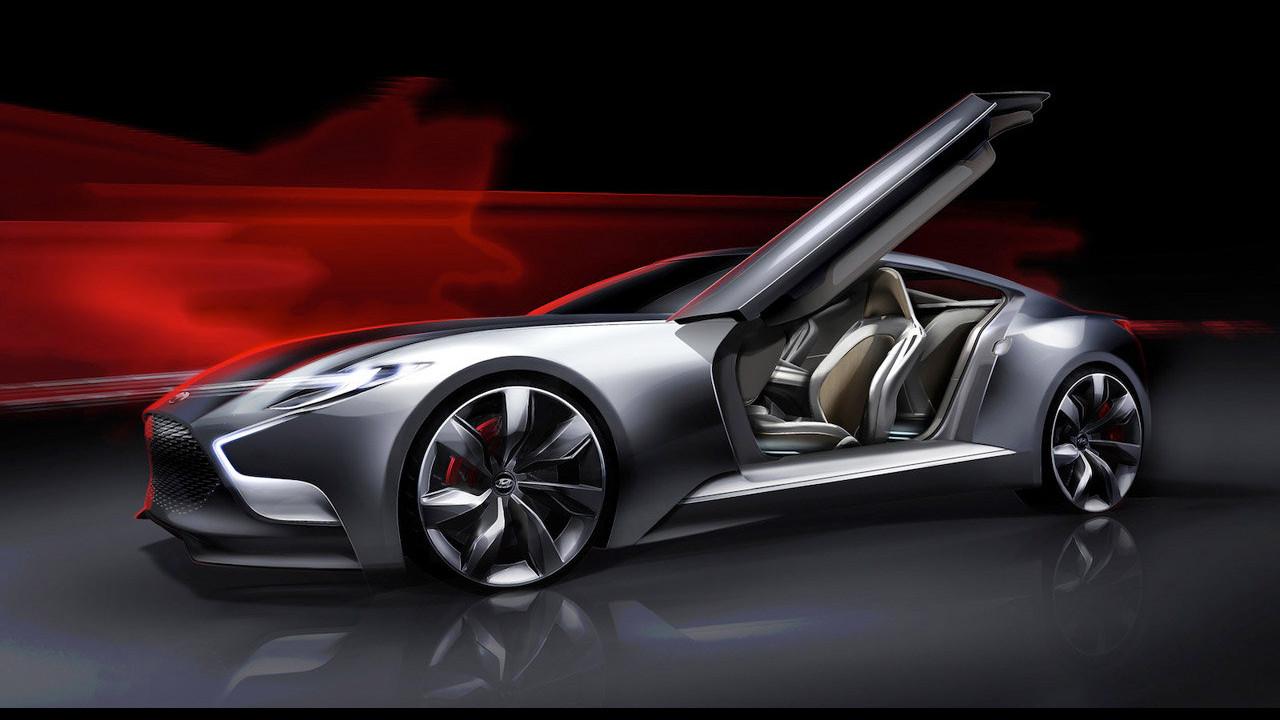 Hyundai HND-9 Concept. Primi teaser