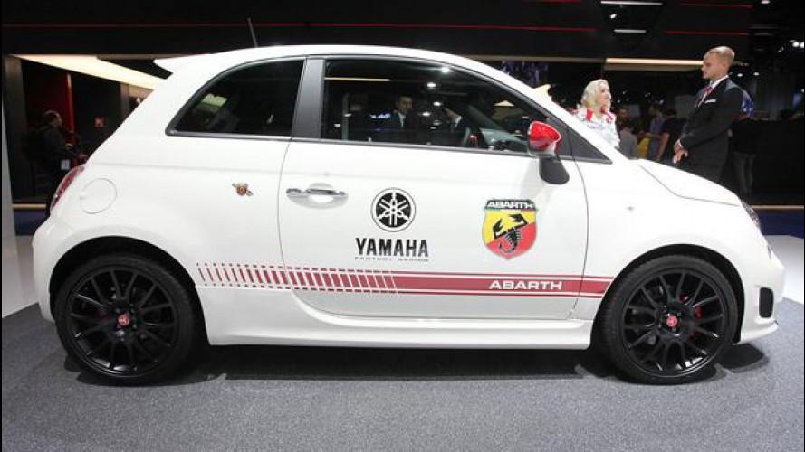MotoGP, Abarth omaggia i tre titoli Yamaha