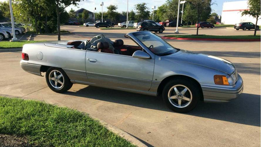 This Curious Mercury Sable Convertible Concept Seeks New Owner