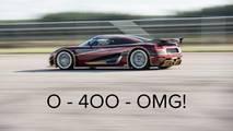 Koenigsegg récord de velocidad