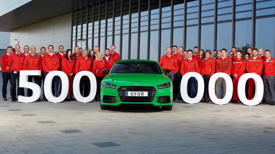 Audi, Macaristan'da 500 bininci aracını üretti