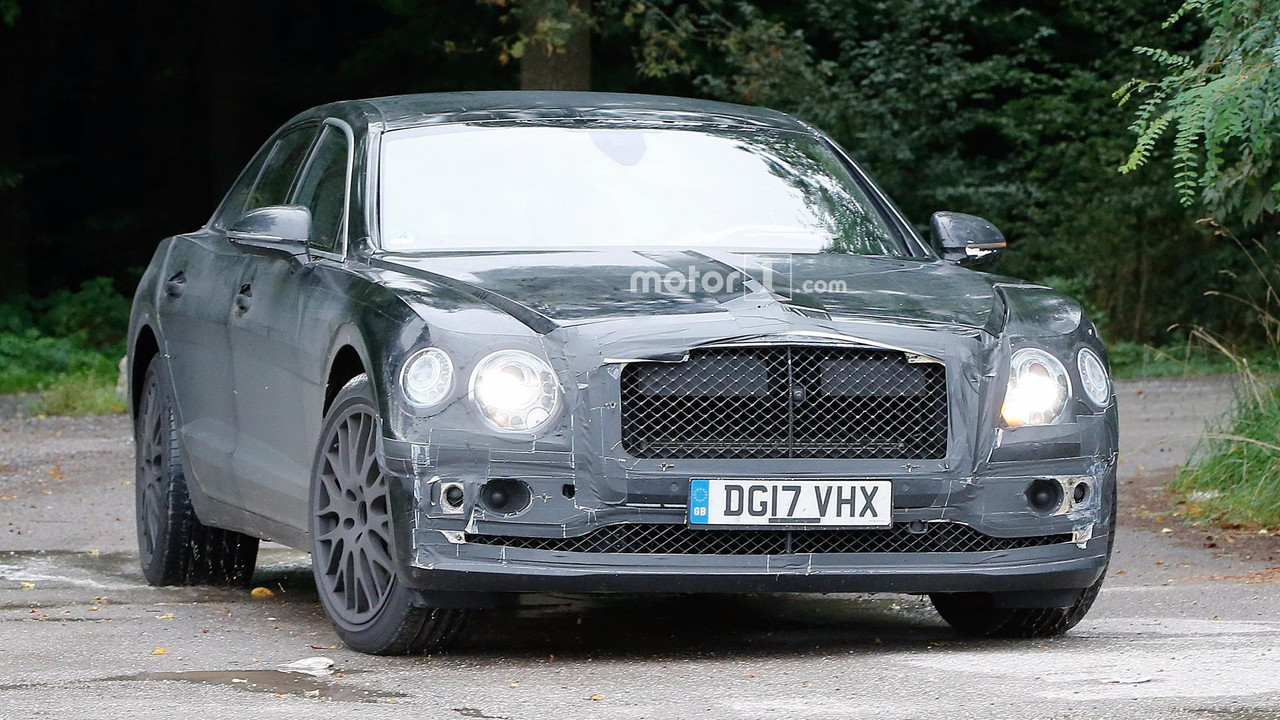 2019 - [Bentley] Flying Spur 2019-bentley-flying-spur-spy-photo