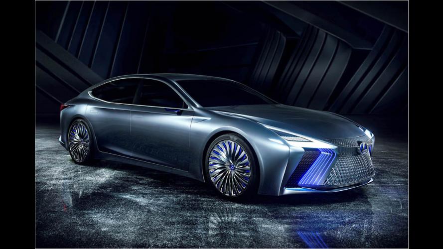 Lexus will das autonome Fahren im Jahr 2020 einführen
