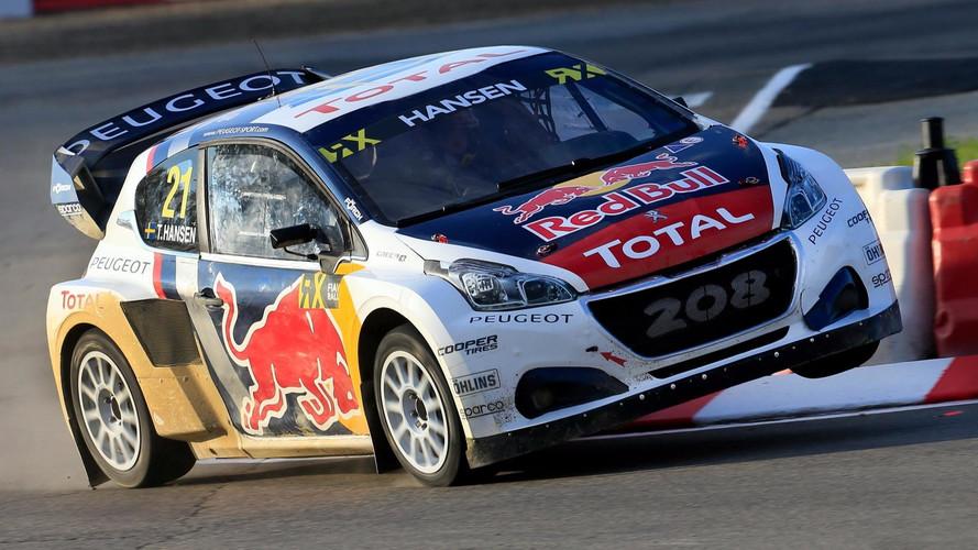Peugeot renforcera son implication en Rallycross avec Loeb en 2018