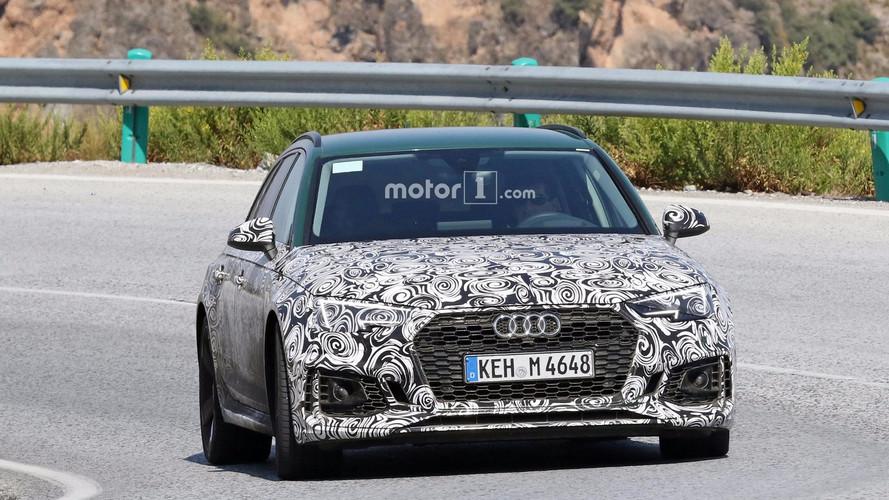 2018 Audi RS4 Avant with Sonoma Green paint spy photos   Motor1.com Photos