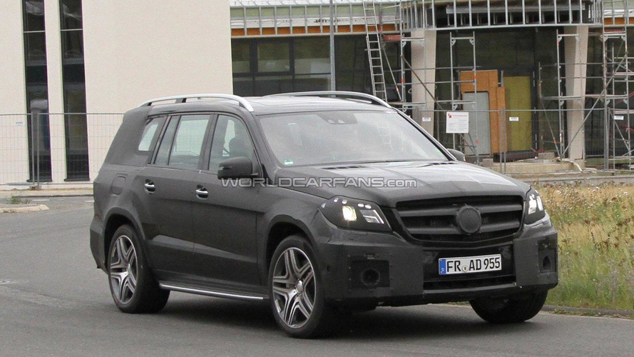 2012 Mercedes-Benz GL AMG spied with new details