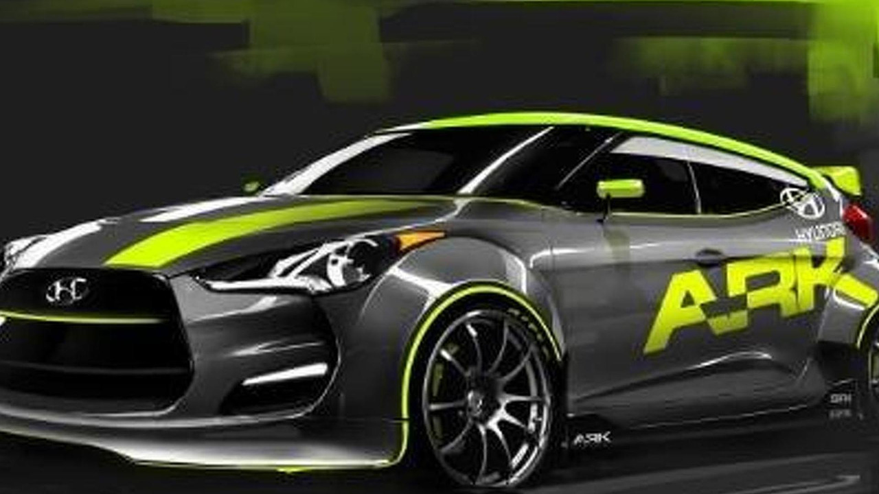 Hyundai Veloster by ARK Performance 30.09.2011