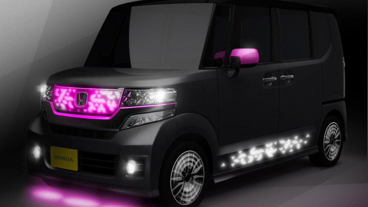 Honda N-BOX Flash Box for Tokyo Auto Salon 11.01.2012