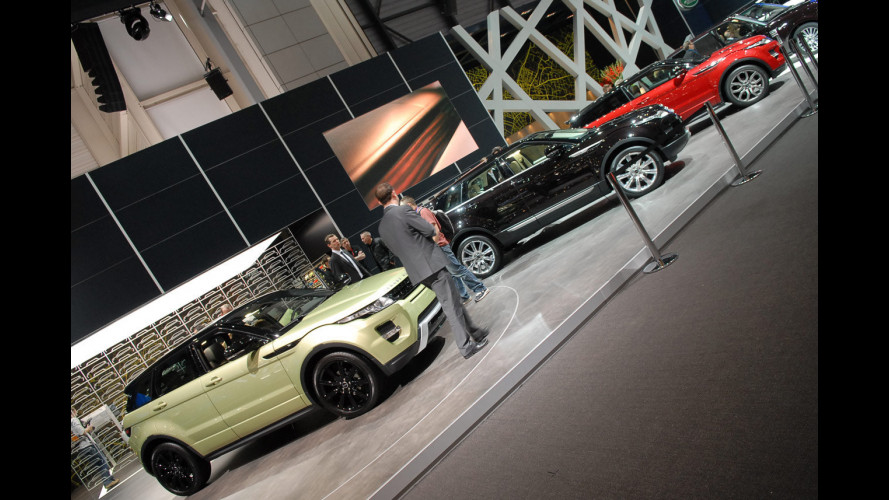 "Range Rover Evoque è ""Car Design of the Year"""